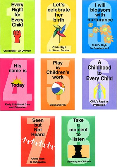 Booklets on Child Rights